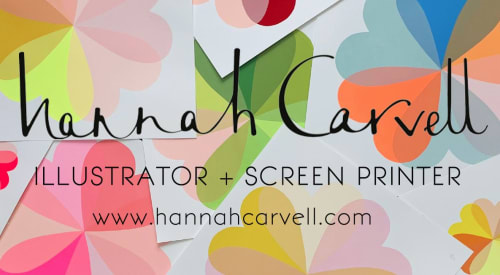 Hannah Carvell - Paintings and Art