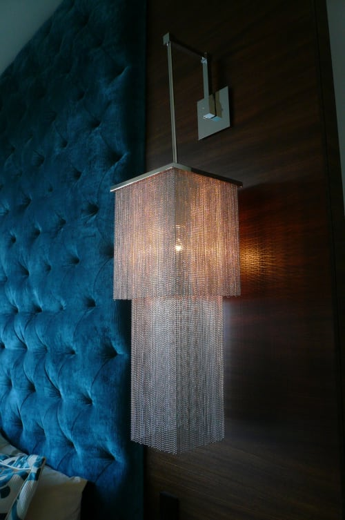 Sconces by Jim Misner Light Designs seen at Private Residence, San Francisco, CA, San Francisco - Bay Street