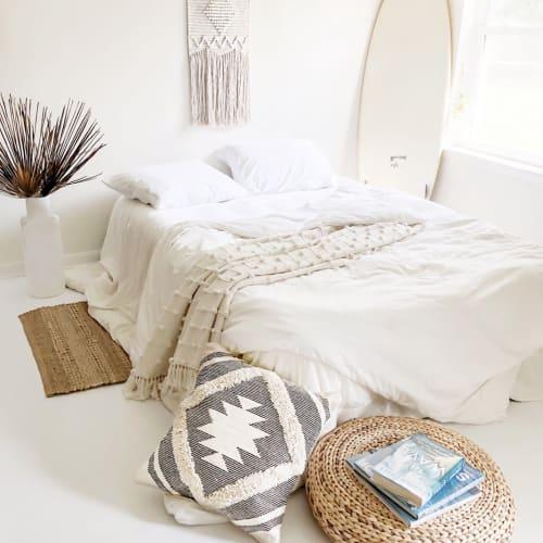 Linens & Bedding by Coastal Boho Studio seen at Destin, Destin - Cotton Sea Throw Blanket