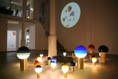 Lamps by Jordi Canudas Studio seen at Galería de arte L&B contemporary art, Barcelona - Dipping Light