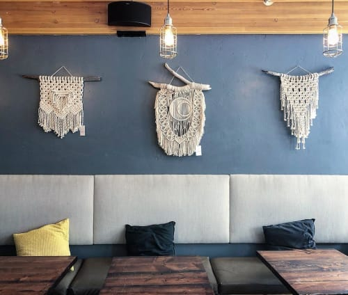 Macrame Wall Hanging by Midnight Soul Designs seen at The Crown, Breckenridge - Macrame Wall Hangings