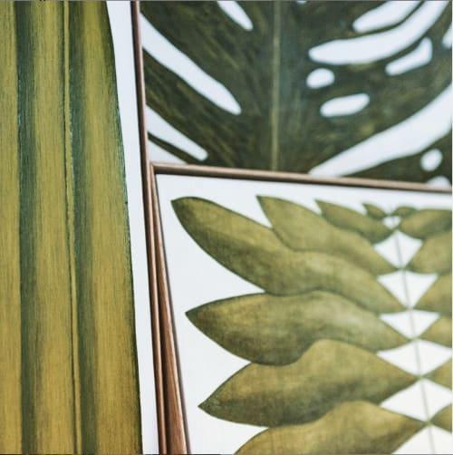 Paintings by Marianne Hendriks seen at Beurs van Berlage, Amsterdam - Angiopteris Magnum