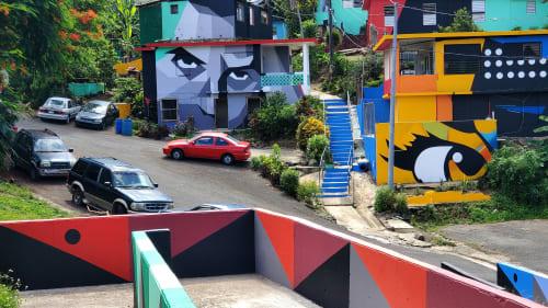 Miradas del Barrio | Murals by Spear Torres