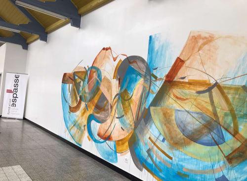 Yin Flow   Street Murals by Crystal Fischetti