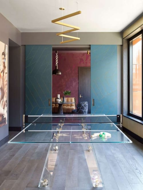Interior Design by IMPATIA seen at Private Residence, New York - Lungolinea Installation