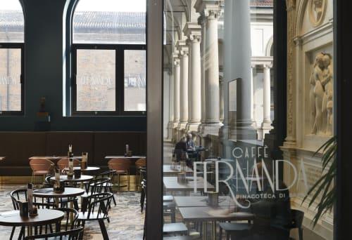 Interior Design by rgastudio seen at Pinacoteca di Brera, Milano - Caffé Fernanda