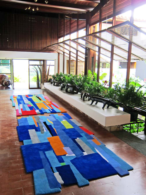 Rugs by Patricia Van Dalen at Caracas, Venezuela, Caracas - Fragmented Gardens