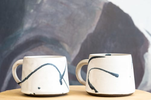 Tableware by Erin Hupp Ceramics seen at The Human Condition, San Francisco - Ink Splatter Mug