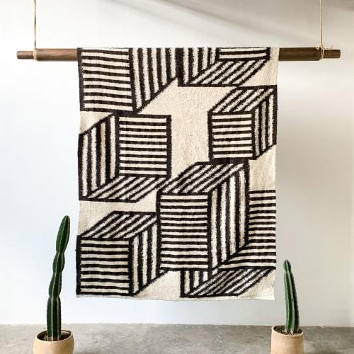Rugs by Meso Goods seen at Creator's Studio, Guatemala City - Cubos Wool Rug