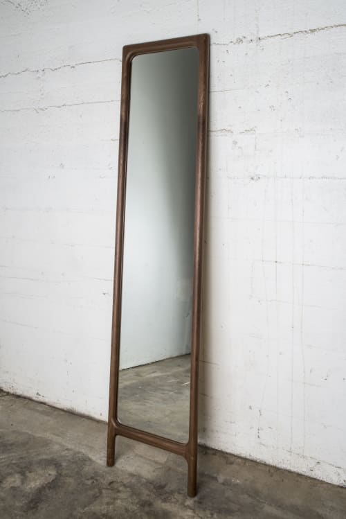 Furniture by Semigood Design seen at Private Residence, Los Angeles - Rian Mirror