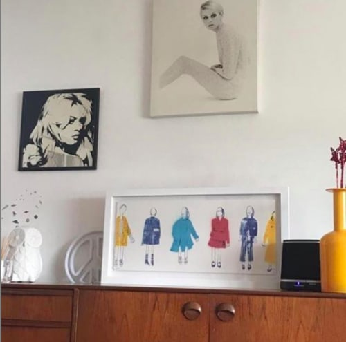 Art & Wall Decor by Adam Hemuss seen at Private Residence, London - Six Girls