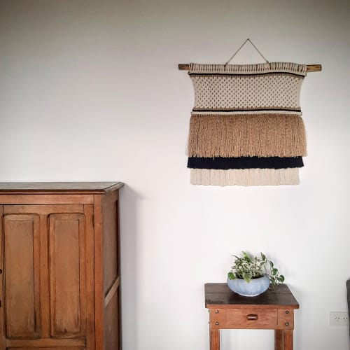 Macrame Wall Hanging by LINDEM Fiber Art seen at Private Residence, Tandil - Mantra Wall Hanging