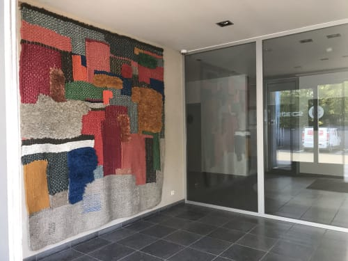 Handwoven tapestry | Wall Hangings by Mariadela Araujo | Limited Edition sprl in Mouscron