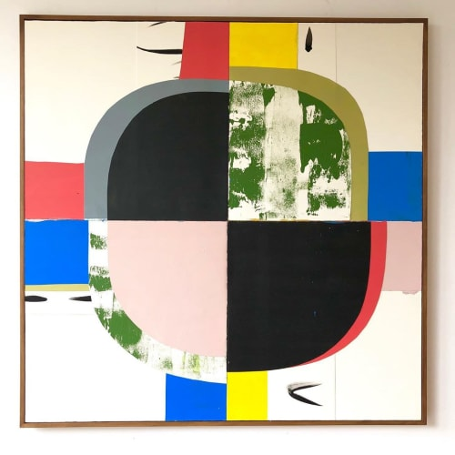 """Paintings by Jo Hummel seen at Private Residence, London - """"Beyond II"""" Painting"""