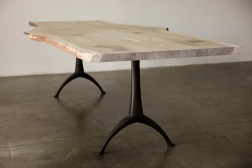 Tables by Alabama Sawyer seen at Private Residence, Sun Valley - Legacy Dining Table