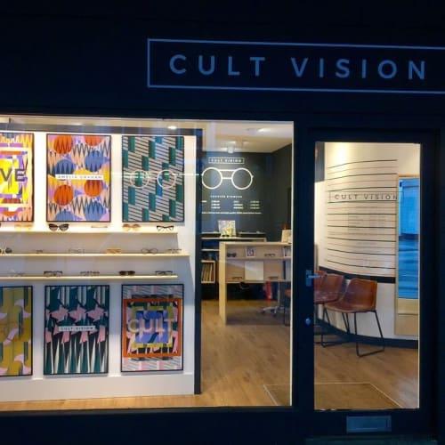 Art & Wall Decor by Amelia Graham seen at CULT VISION, London - Art Prints