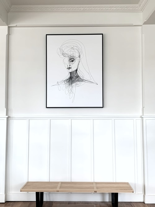 Paintings by Sarah Albisser Art seen at Marquis Of Normanby Hotel, Masterton - Rebel
