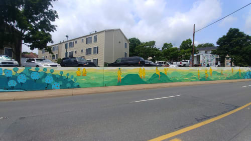 Street Murals by Eleanor Doughty at Charlottesville, Charlottesville - Spirits of the Piedmont