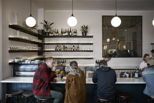 Interior Design by Samantha Eades Design seen at Carlton Wine Room, Carlton - Interior Design