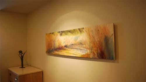 Paintings by Michael Ireland seen at Private Residence, Evanston - The Path Awakes