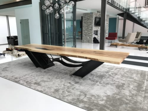 Wave Table   Tables by Innovative Sculpture Design