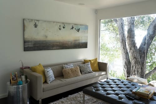 Paintings by Rob Grad Art seen at Private Residence, Los Angeles - SFV