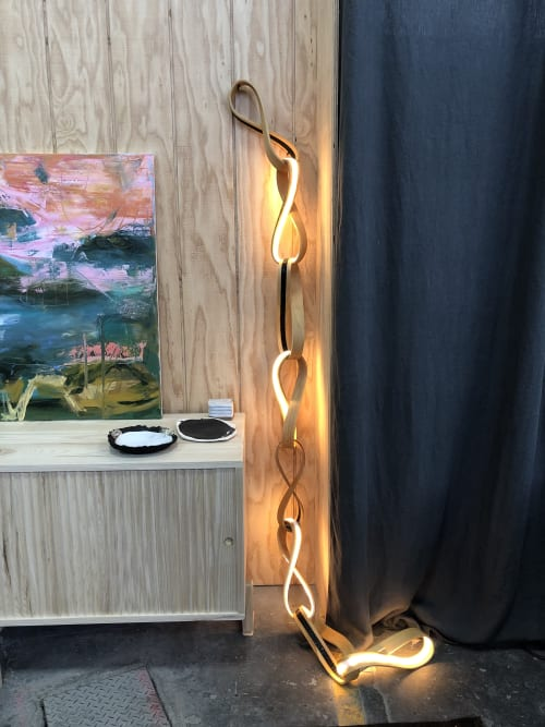 Art Curation by Art of Plants and Elliptic Designs seen at Bay Area Made x Wescover 2019 Design Showcase, Alameda - Link Light
