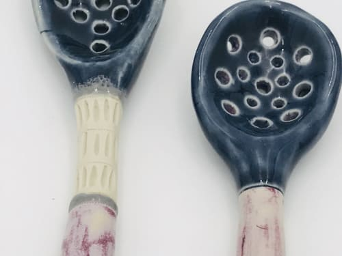 Utensils by Amy Halko Ceramics at Marfa, Marfa - Spoons!