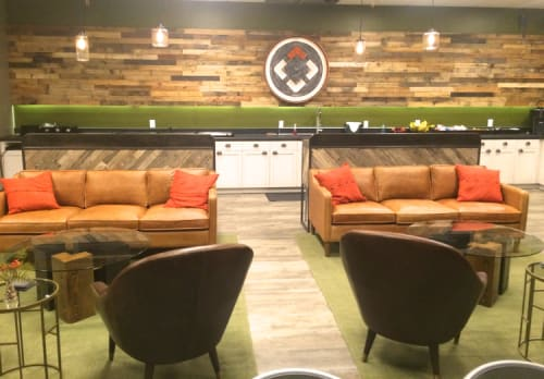Interior Design by Thiesen Interiors seen at North Point Community Church, Alpharetta - NPCC Green Room