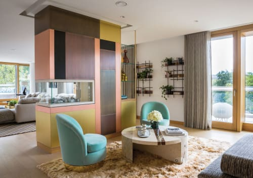 Interior Design by Carden Cunietti seen at Private Residence, London - Kensington Penthouse Showflat