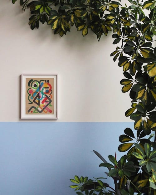 Paintings by Robert Pokorny seen at Fora, Portland - Painting