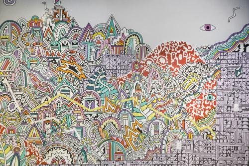 C3 Presents Mural | Murals by Sophie Roach | C3 Presents in Austin
