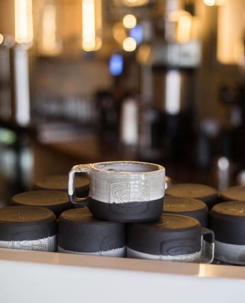 Cups by THrō Ceramics at Trinity Street Coffee Bar, Decatur - Coffee Mug