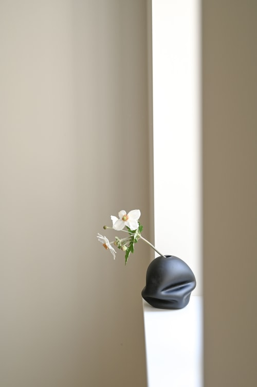 Vases & Vessels by GoodBeast seen at Private Residence, Vancouver - Ebony Softie Bud Vase