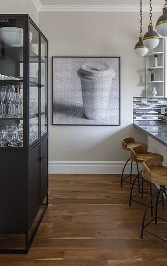 Photography by Pamela Stretton Fine Art seen at 11th Avenue Residence, San Francisco - Flat White