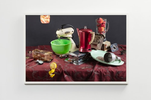 Photography by Jeanette May seen at Creator's Studio, New York - Tech Vanitas: Musical Decanter