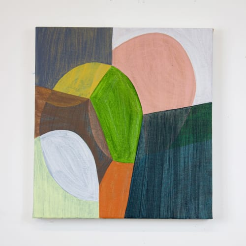 Paintings by Rebekah Andrade - Over the Valley - Acrylic Painting on Canvas