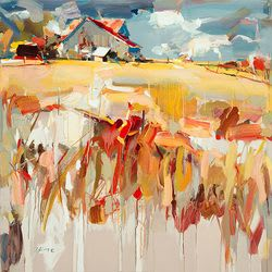 "Art & Wall Decor by YJ Contemporary seen at East Greenwich, East Greenwich - Josef Kote ""The Old Barn"""