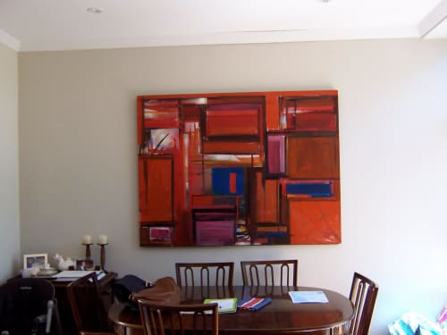 "Paintings by Rob Forlani seen at Private Residence, Perth - ""The First One"""