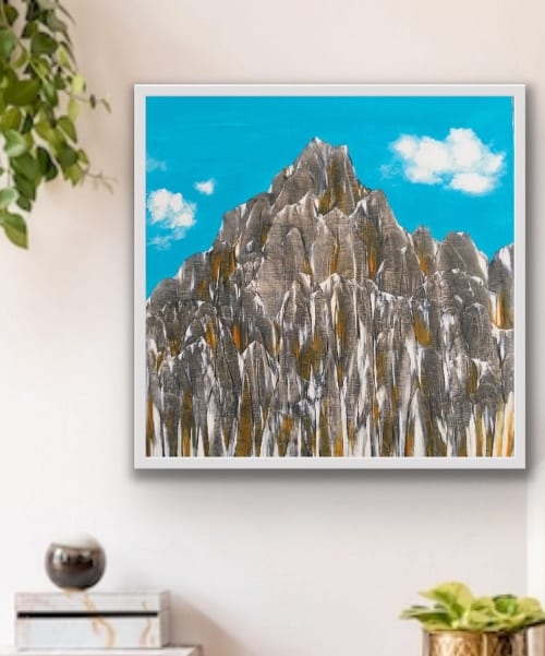 """Paintings by Lindsay Dew seen at Private Residence, Nelson - """"Yet Again"""""""