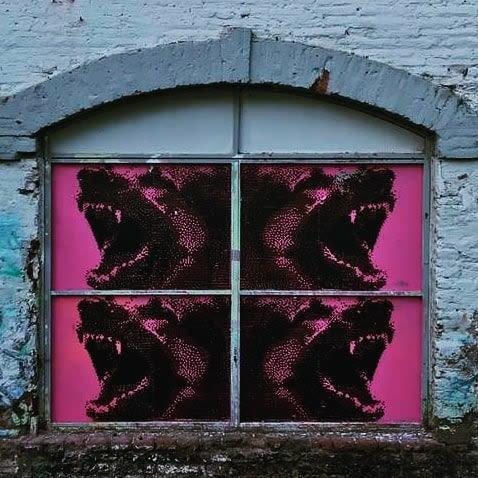Murals by Pixel Art seen at Perrera Arte, Quinta Normal - Captain
