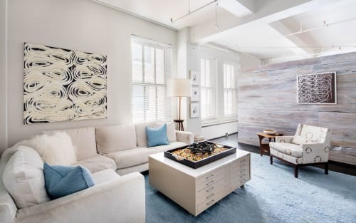 Interior Design by Betty Wasserman Art & Interiors seen at Private Residence, New York - Chelsea Live/Work Loft