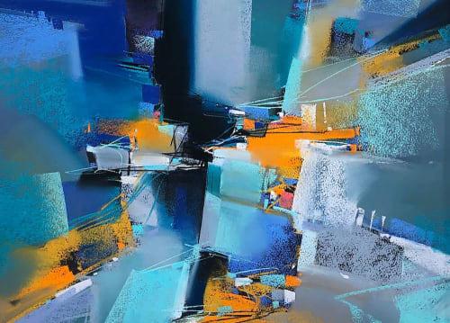 Enharmonic   Paintings by Michael Mckee