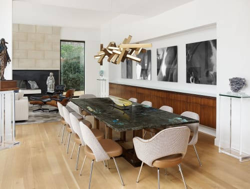 Tables by Allan Knight seen at Private Residence, Dallas - Tables