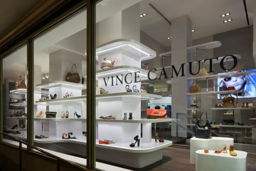 Interior Design by Sergio Mannino Studio seen at Vince Camuto, New York - Interior Design
