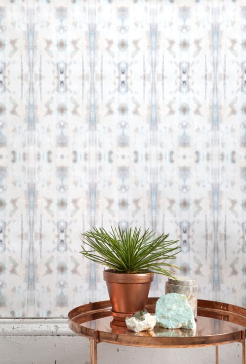 Wallpaper by Eskayel at Private Residence, New York - Biamai Hide