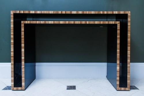 Tables by Luisa Peixoto Design seen at Mandarin Oriental, Paris, Paris - Duplo U Console Table