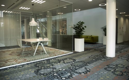 Interior Design by Muurbloem design studio seen at Houten, Houten - Floorfashion by muurbloem