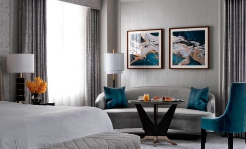 Paintings by Kalisher seen at Westin St. Francis, San Francisco - Custom Framed Prints