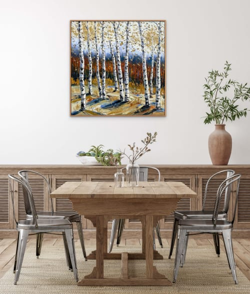Paintings by Lisa Elley ART seen at Private Residence, San Jose - Interlude